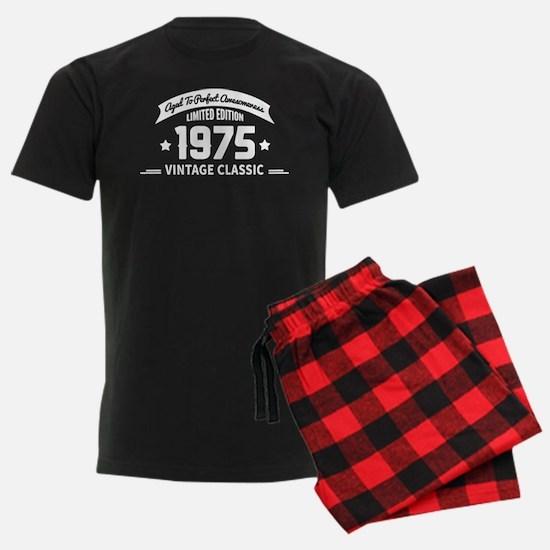 Aged To Perfection 1975 Birthd Pajamas