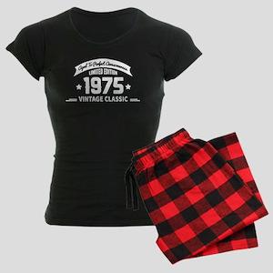 Aged To Perfection 1975 Birt Women's Dark Pajamas