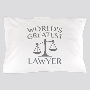 World's Greatest Lawyer Pillow Case