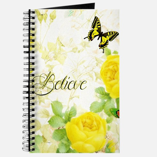 Believe - yellow roses Journal