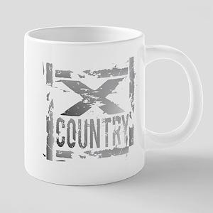 Cross Country Grunge Mugs