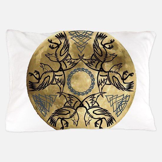 Huginn & Muninn Pillow Case