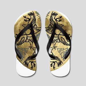 Huginn & Muninn Flip Flops