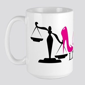 Vicious Litigator  Large Mug