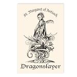 St. Margaret Dragonslayer Light Postcards (Package