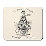 St. Margaret Dragonslayer Light Mousepad