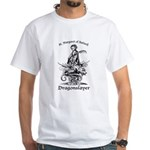 St. Margaret Dragonslayer Light White T-Shirt