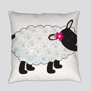 Little Lamb Everyday Pillow