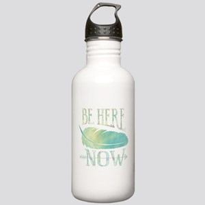 Be Here Now Water Bottle