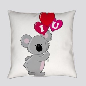 koala heart balloons cp Everyday Pillow
