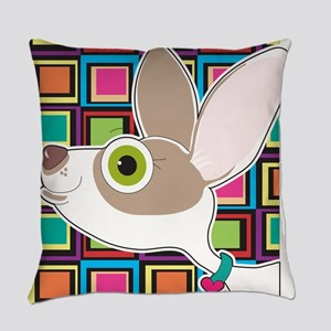 Chihuahua Portrait Everyday Pillow