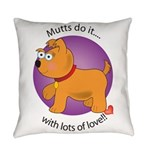 love_mutts Everyday Pillow