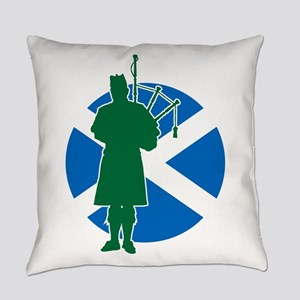 Scottish Piper Everyday Pillow