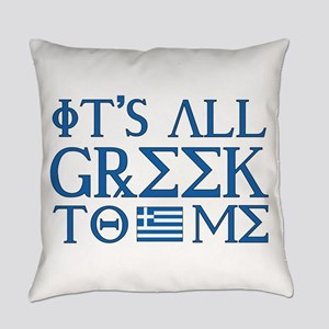 greek to me pod Everyday Pillow