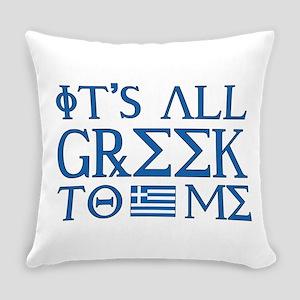 greek to me pod Everyday Pillow