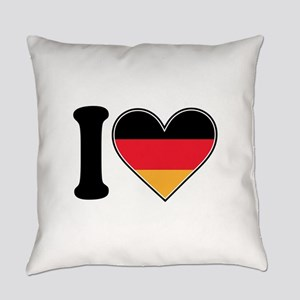 i love germany Everyday Pillow