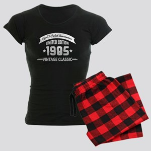 Birthday Born 1985 Aged To P Women's Dark Pajamas