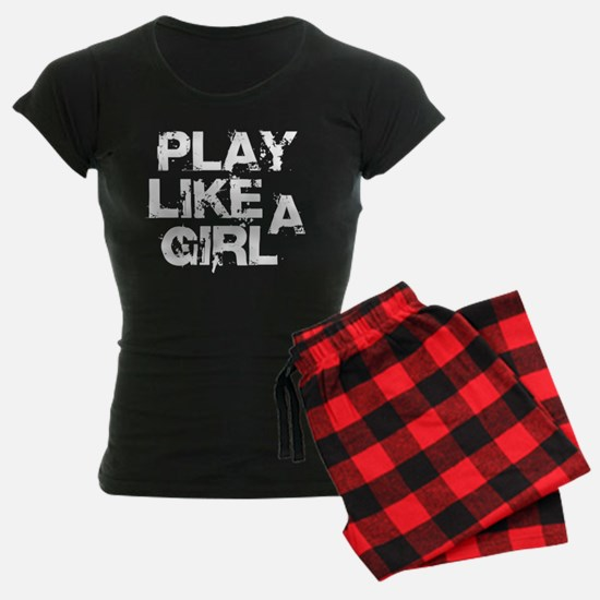 Play Like A Girl Pajamas