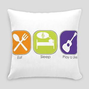 Eat_Sleep_Play Uke Everyday Pillow