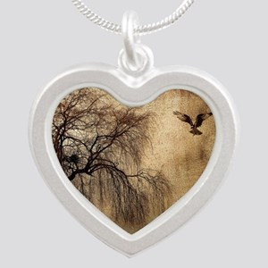 Weeping Willow with Bird Necklaces