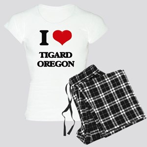 I love Tigard Oregon Women's Light Pajamas