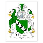 Mallard Family Crest Small Poster