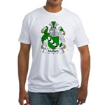Mallard Family Crest Fitted T-Shirt
