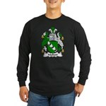 Mallard Family Crest Long Sleeve Dark T-Shirt