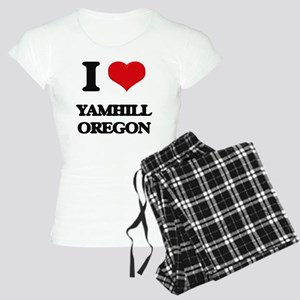 I love Yamhill Oregon Women's Light Pajamas