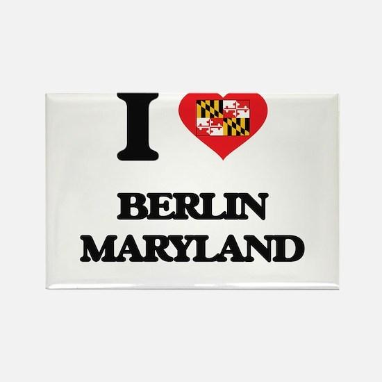 I love Berlin Maryland Magnets