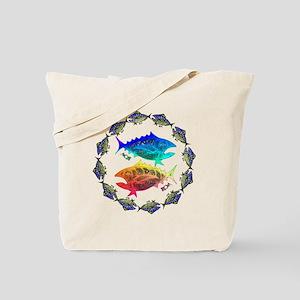 Cool Tuna Ring. Fish Retro Tuna RCM Wild  Tote Bag