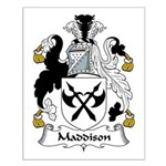 Maddison Family Crest Small Poster