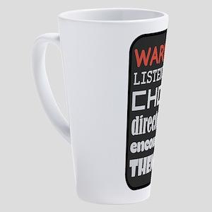 Choir Music Humor 17 oz Latte Mug