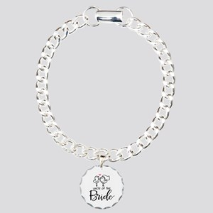 Uncle of the Bride Charm Bracelet, One Charm