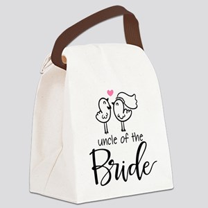 Uncle of the Bride Canvas Lunch Bag