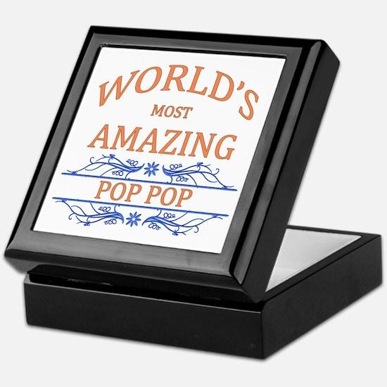 Pop Pop Keepsake Box