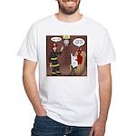Hells Fire Department White T-Shirt