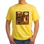 Hells Fire Department Yellow T-Shirt