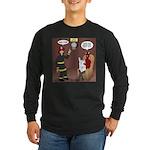 Hells Fire Department Long Sleeve Dark T-Shirt
