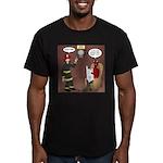 Hells Fire Department Men's Fitted T-Shirt (dark)