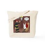 Hells Fire Department Tote Bag