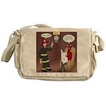 Hells Fire Department Messenger Bag