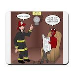 Hells Fire Department Mousepad