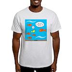 Fish Bathroom Protocol Light T-Shirt