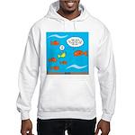 Fish Bathroom Protocol Hooded Sweatshirt