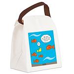 Fish Bathroom Protocol Canvas Lunch Bag