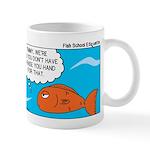 Fish Bathroom Protocol Mug