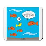 Fish Bathroom Protocol Mousepad