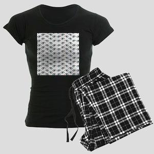 evil eye Women's Dark Pajamas