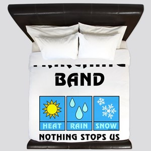 Marching Band Weather King Duvet